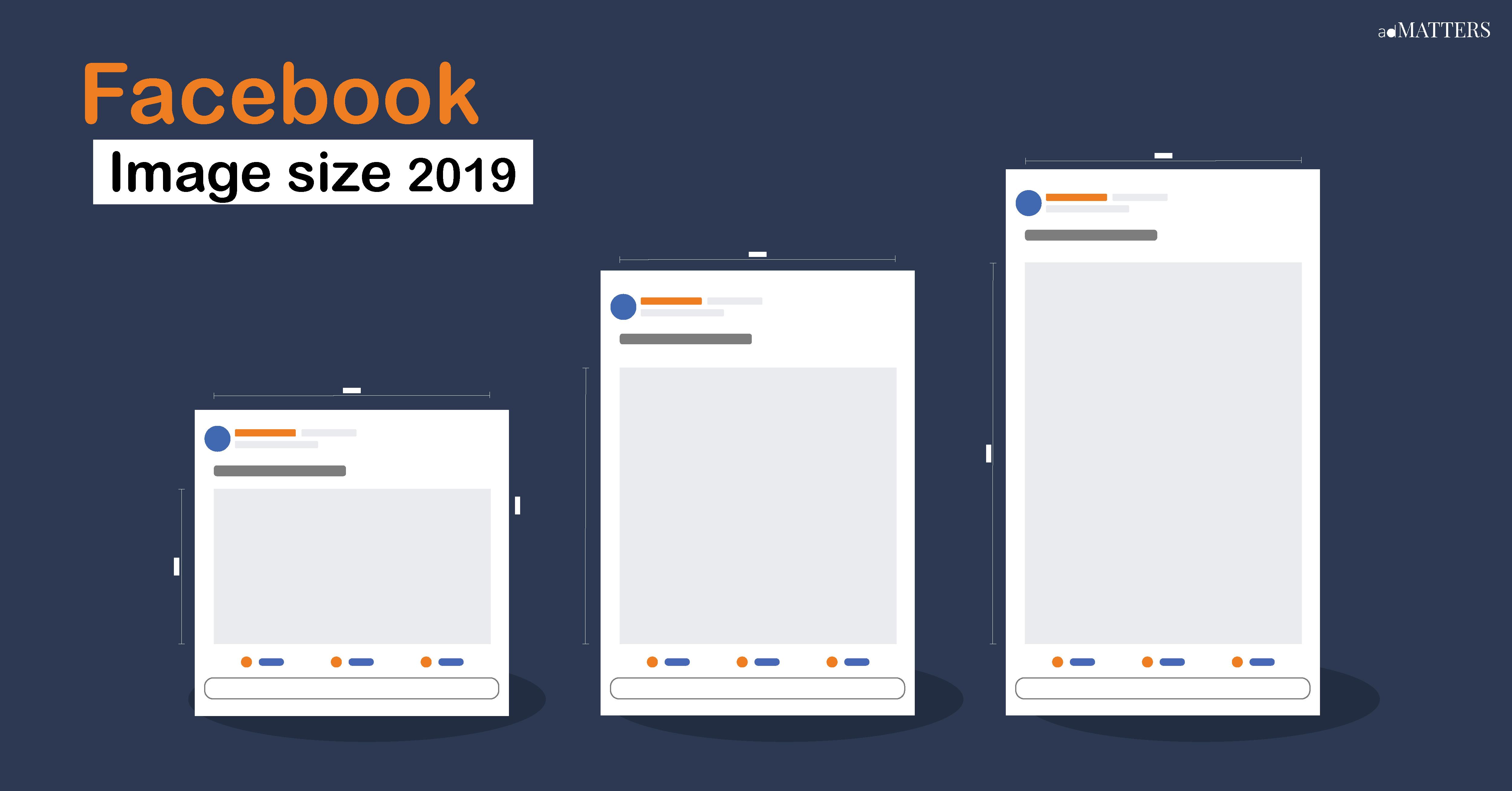 รวมขนาดรูป Facebook Page ต้องใช้บ่อย อัพเดท 2019 | adMATTER