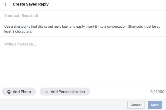 Saved Reply